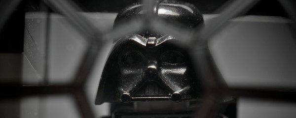 LEGO Darth Vader with Silver Lightsaber