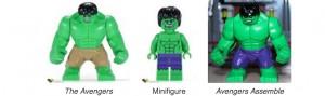 Hulk Versions